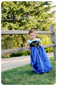 Princess Party Dress PDF - Mandy K Designs - 12M thru 12 + Doll