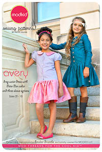 NEW Avery - Drop-Waist Dress - Modkid (size 2T-10)