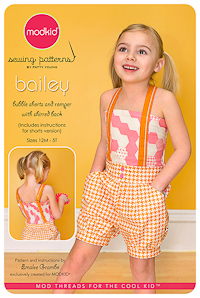 Bailey - Bubble Shorts & Romper w Shirred Back - Modkid (12M-5T)