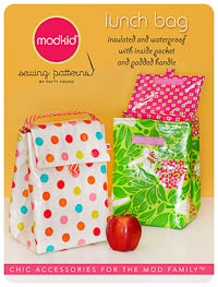 NEW Lunch Bag - Micro Mini Pattern - Modkid