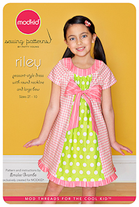 Riley - Peasant-Style Dress - Modkid (2T-10)