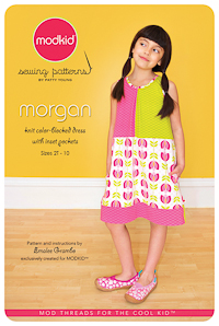 Morgan - Color-blocked Knit Dress - Modkid (size 2T-10)