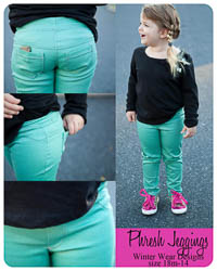 Phresh Jeggings PDF - Winter Wear Designs - Sizes 18M-14