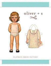 Playdate Dress - PDF Pattern - Oliver+S