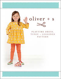Playtime Dress, Tunic + Leggings - PDF Pattern - Oliver+S