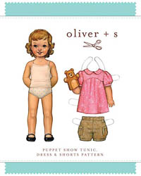 Puppet Show Tunic Dress + Shorts - PDF Pattern - Oliver+S