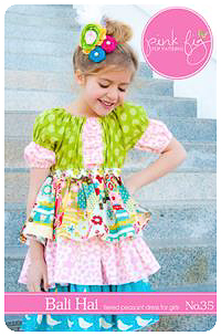 Balai Hai PDF Pattern - Pink Fig - Sizes 2T thru 10Y