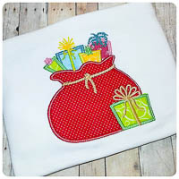 Winterland Bag of Gifts - Whimsical Applique
