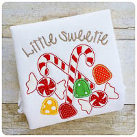 Winterland Little Sweetie - Whimsical Applique