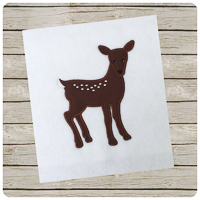 Woodland Fawn - Whimsical Applique