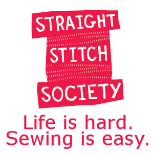 Straight Stitch PDF Patterns