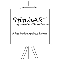StitchART Free Motion Applique